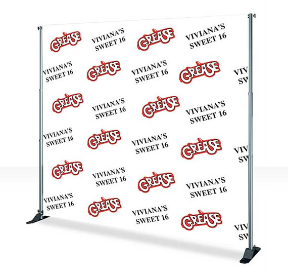 Print 8x8 Step and Repeat Banner | Backdrop Banner | Squar-Pix