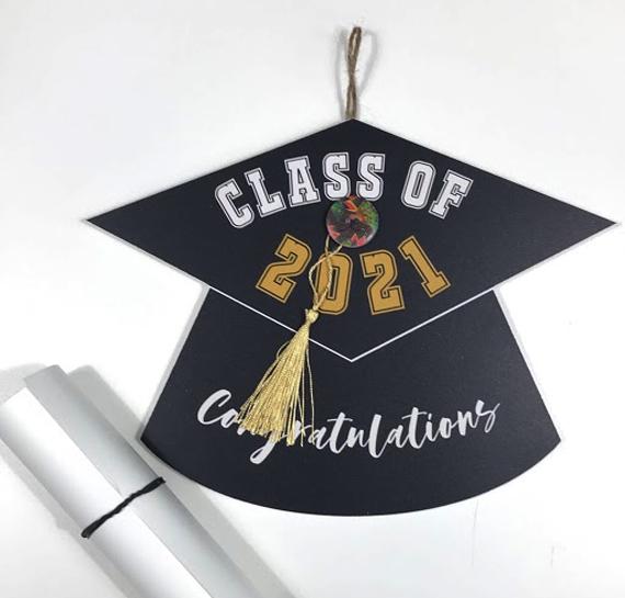Graduation Cap Wall Hanging